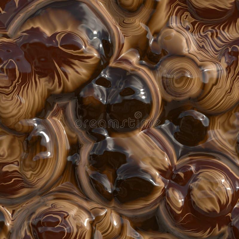 czekolada topnienia ilustracja wektor
