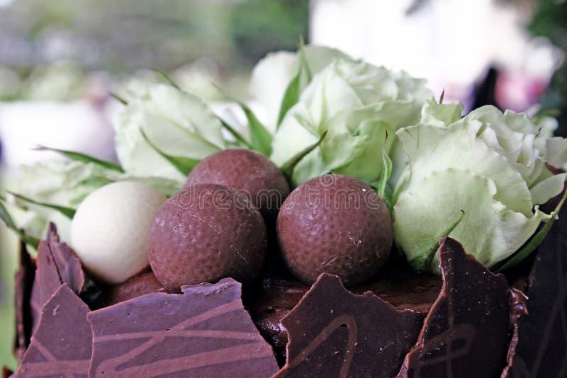 czekolada tortowa fotografia stock