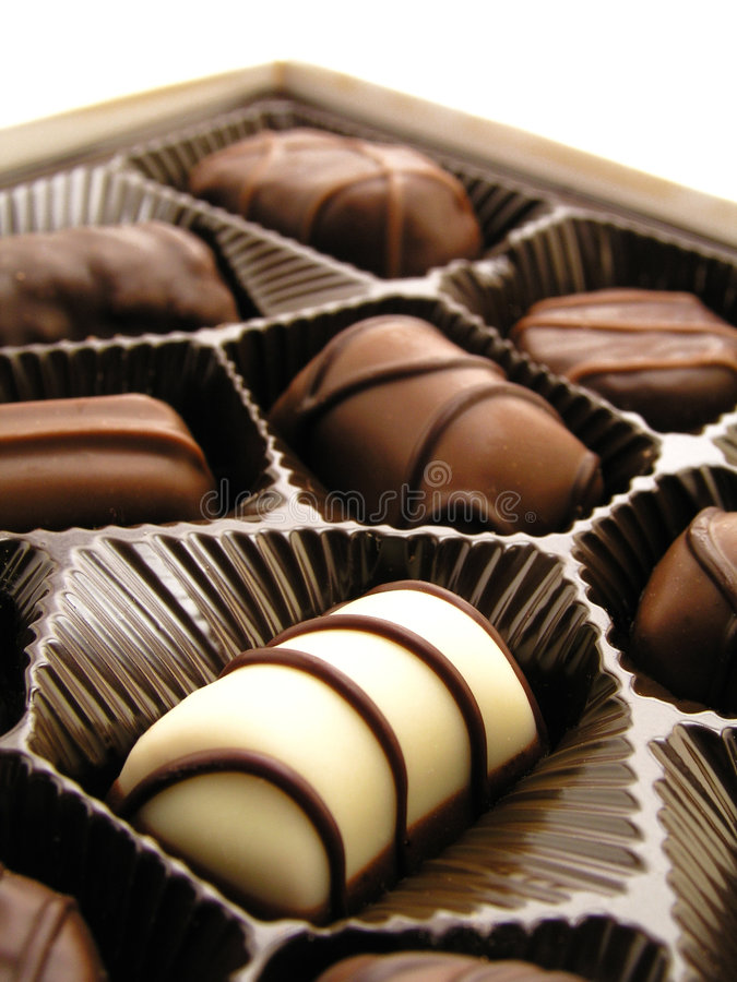 czekoladki zdjęcia stock
