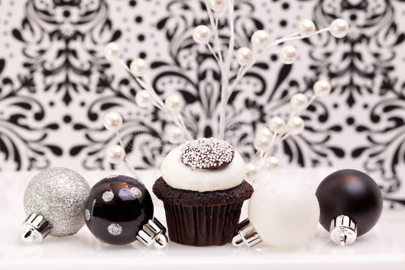 czekoladowa babeczka zdjęcie royalty free