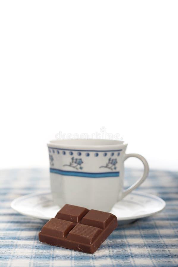czekoladowa kawy obrazy stock