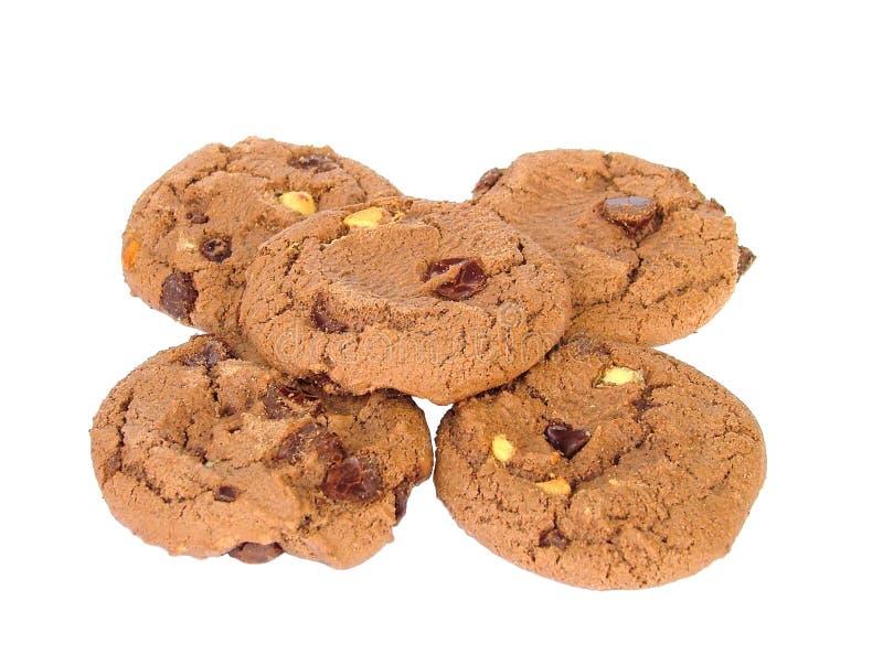 czekoladowe ciasteczka obrazy stock