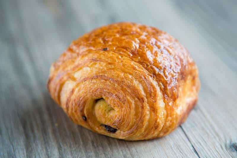 Czekoladowi croissants zdjęcia stock