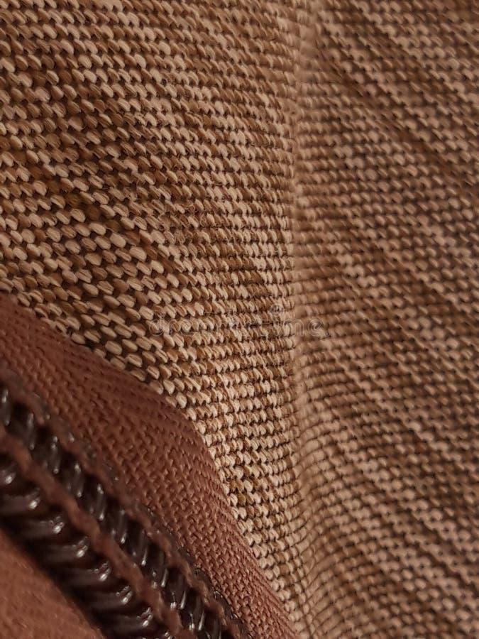 Czekoladowy bag& x27; s tkanina zdjęcie royalty free