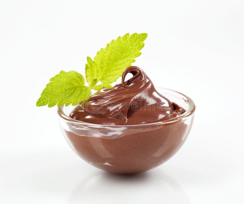 czekoladowy deser fotografia stock