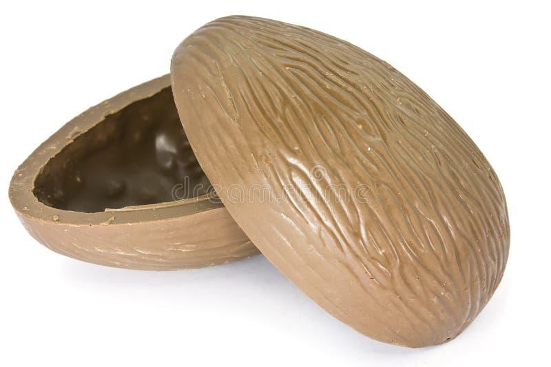czekoladowy Easter jajko obrazy royalty free