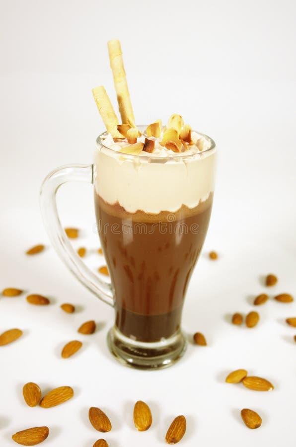 czekoladowy koktajl zdjęcia stock