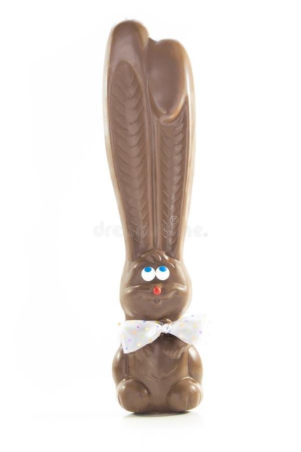 Czekoladowy królik fotografia stock