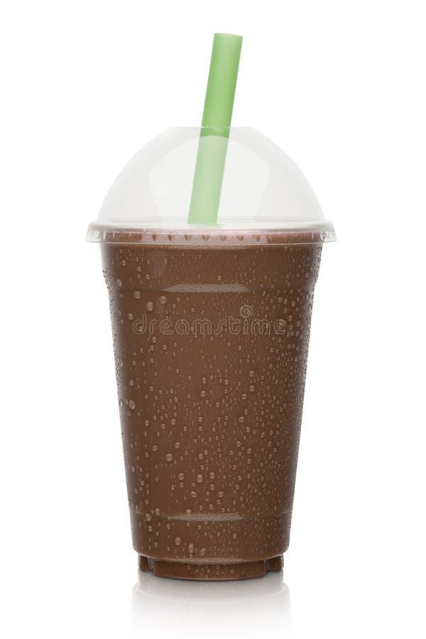 Czekoladowy milkshake obraz stock