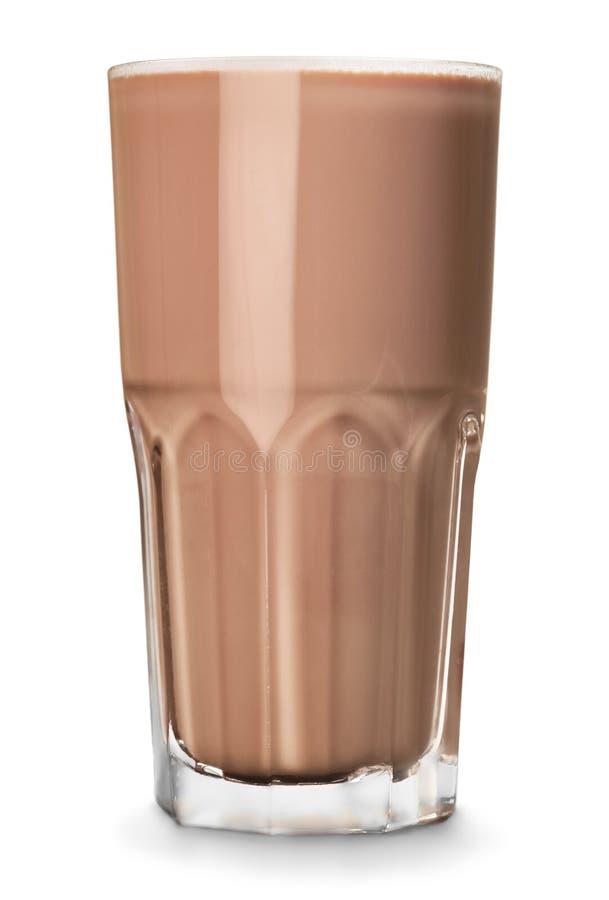 Czekoladowy mleko obrazy royalty free