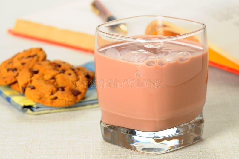 czekoladowy mleko obraz stock