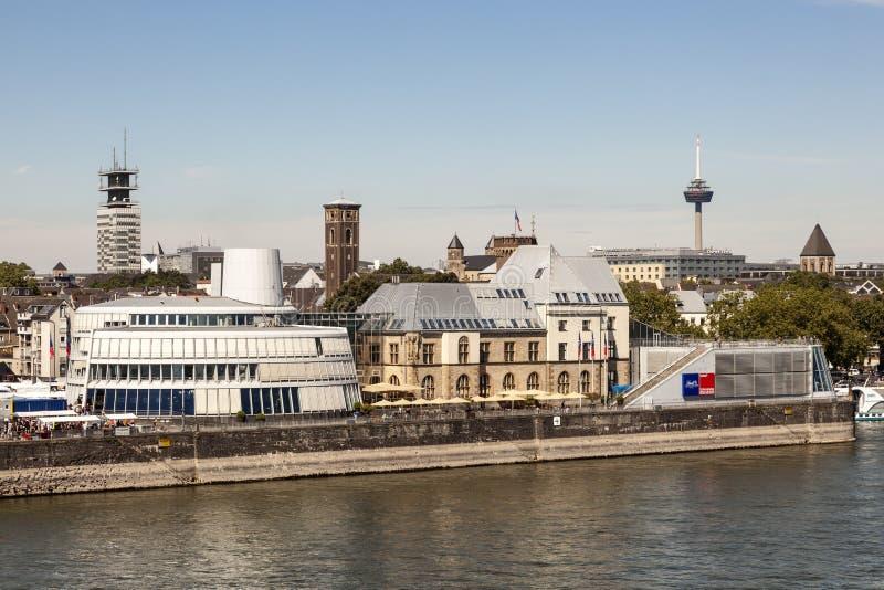 Czekoladowy muzeum w Kolonia, Niemcy obrazy stock
