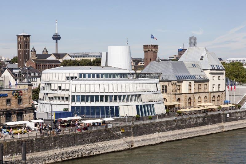 Czekoladowy muzeum w Kolonia, Niemcy obrazy royalty free