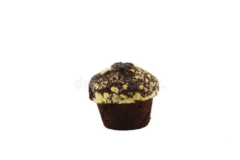 Czekoladowy słodka bułeczka zdjęcie stock