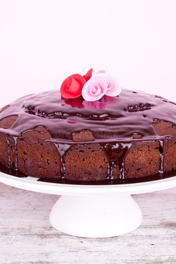 Download Czekoladowy tort zdjęcie stock. Obraz złożonej z cukierki - 42525834