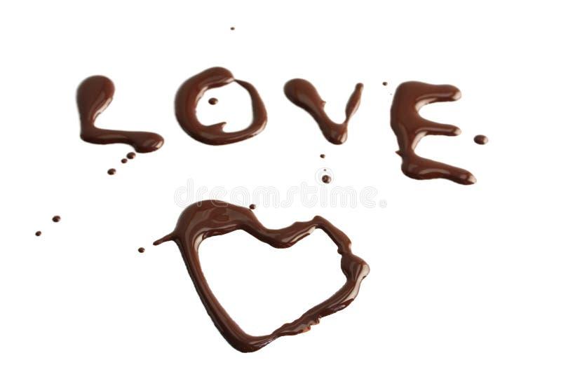 czekoladowy zmrok fotografia stock