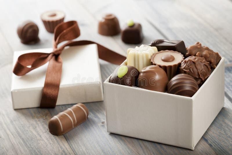 czekolady fotografia stock