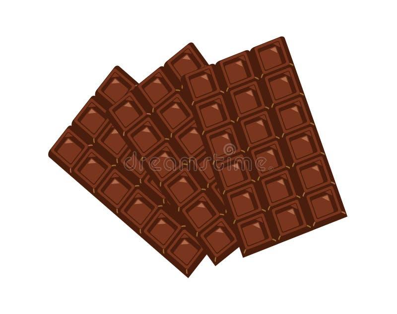 czekolady royalty ilustracja