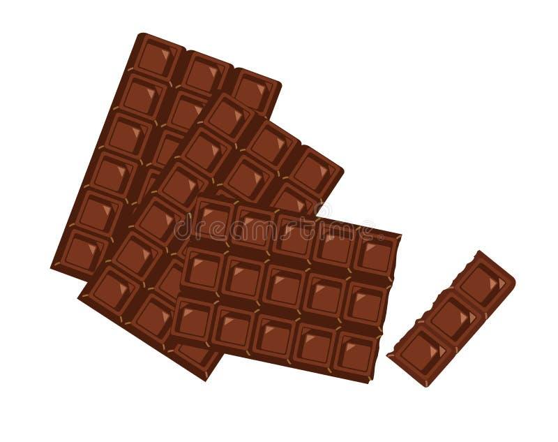 czekolady ilustracji