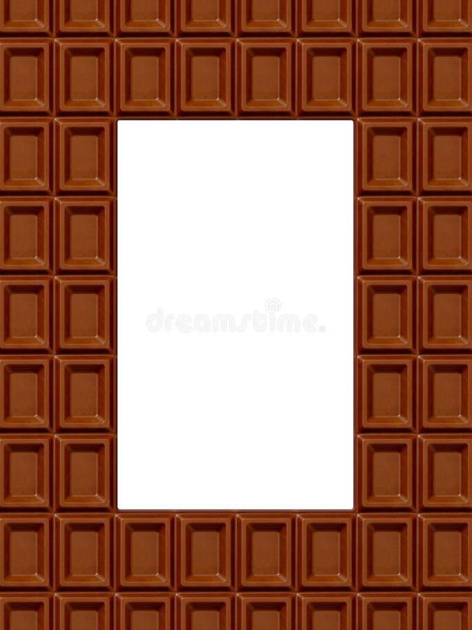 czekolady rama obraz royalty free