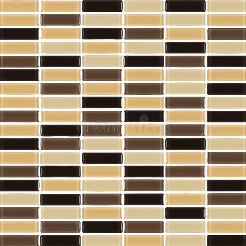 Czerń, Brown, naga postać ceglany wnętrze lub ilustracja wektor