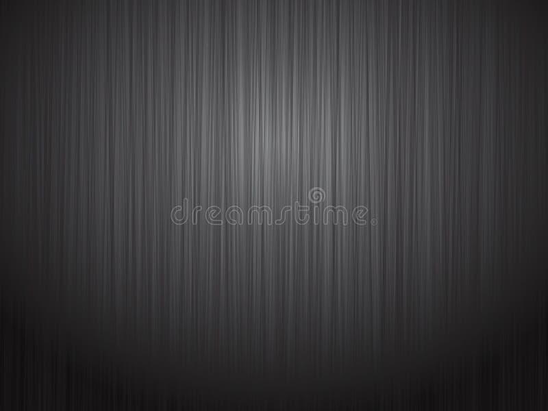 Czerń metalu stali oczyszczony tło ilustracji
