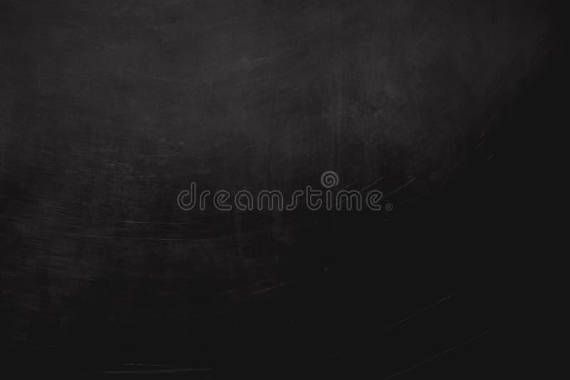 Czerń skrobający ścienny tło lub tekstura zdjęcia stock