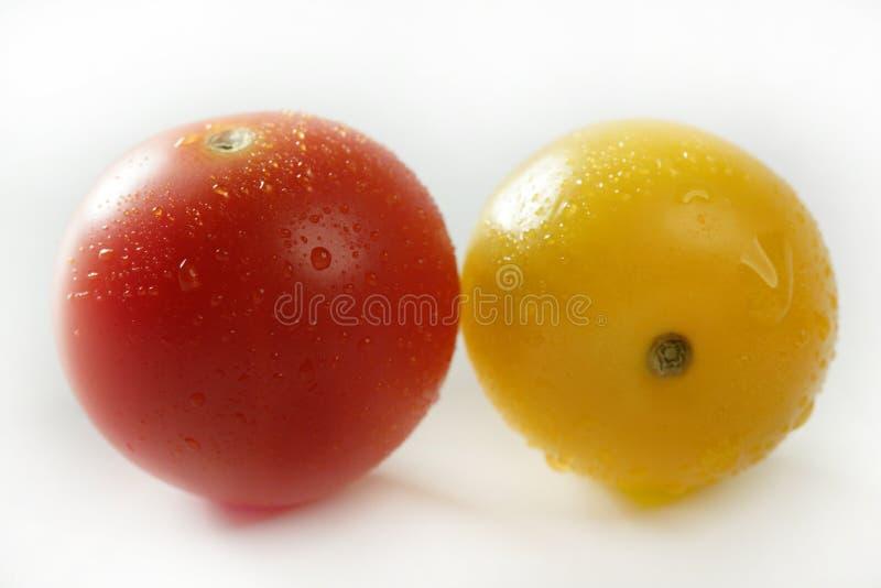 czereśniowego koloru mali wielo- pomidory zmieniający zdjęcie royalty free