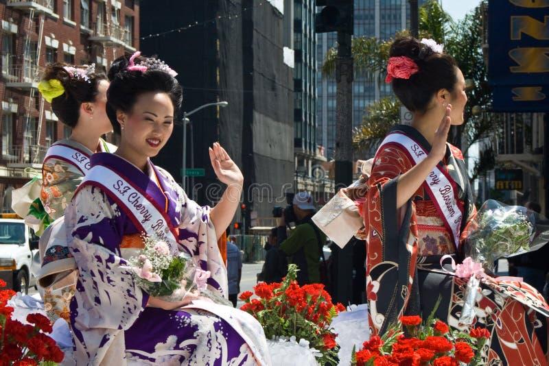 Czereśniowego okwitnięcia festiwal 2008 obrazy stock