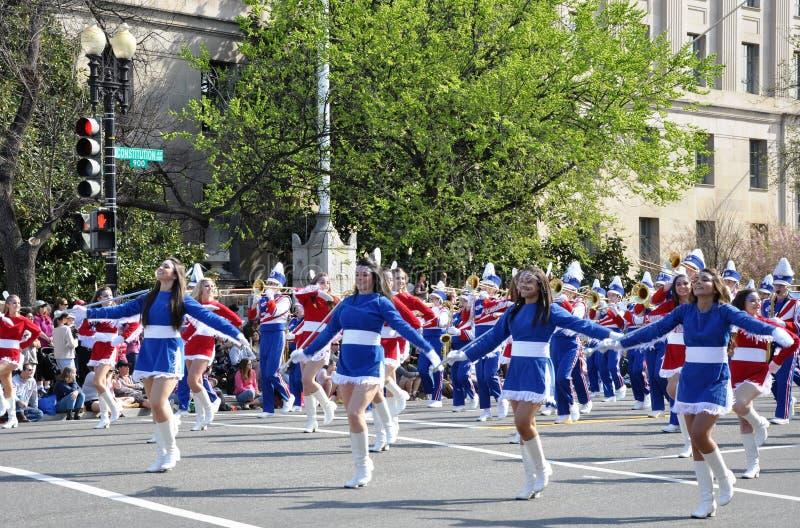 Czereśniowego okwitnięcia festiwalu parada zdjęcie stock