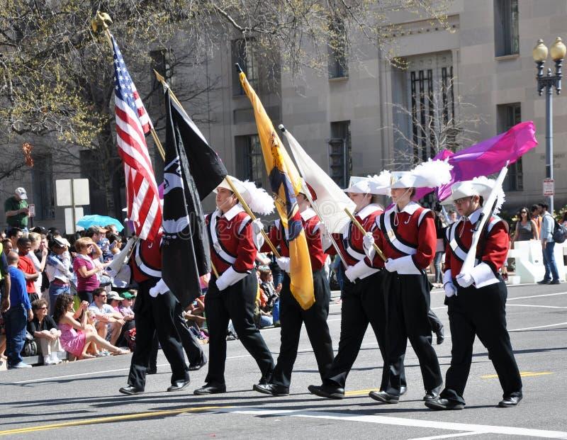 Czereśniowego okwitnięcia festiwalu parada zdjęcia royalty free