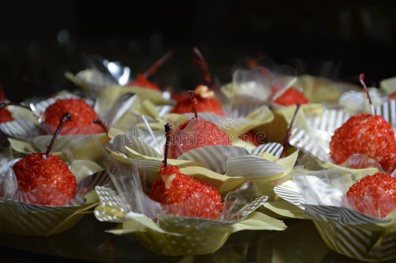 Czereśniowi cukierki obrazy stock