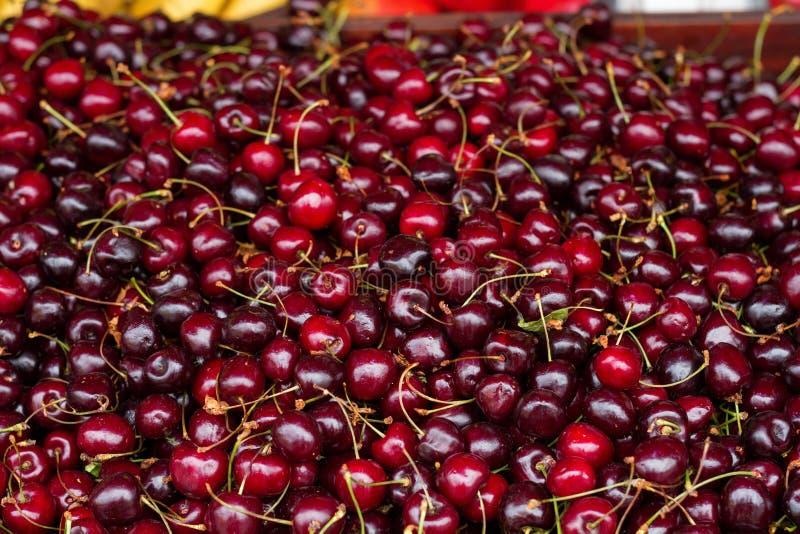 Czereśniowy jagody tła kontuar fotografia stock