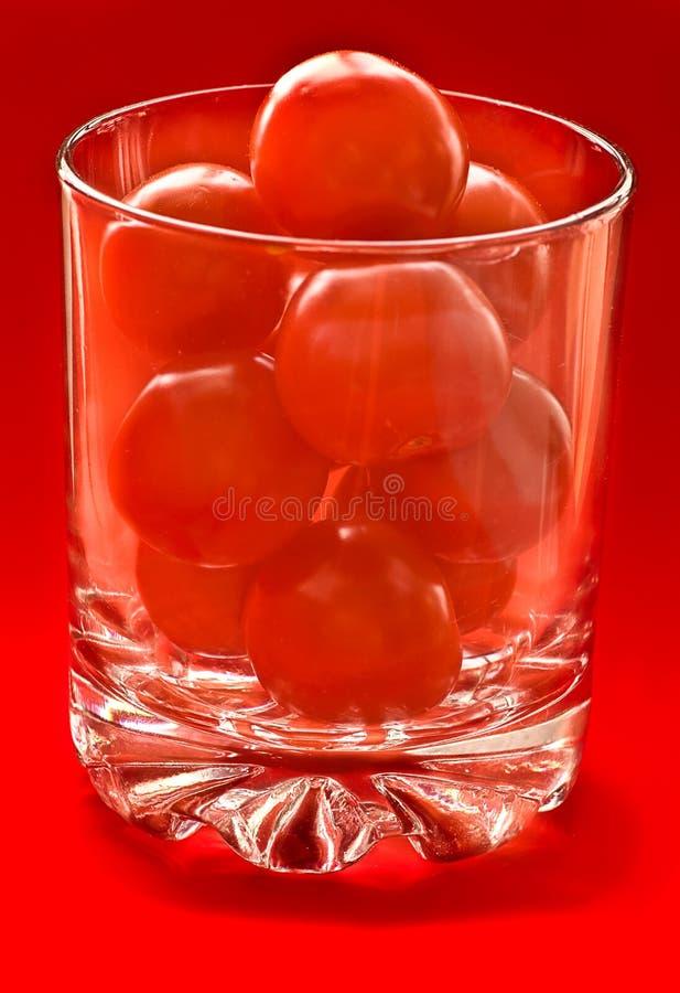 czereśniowy szklany pomidor zdjęcie royalty free