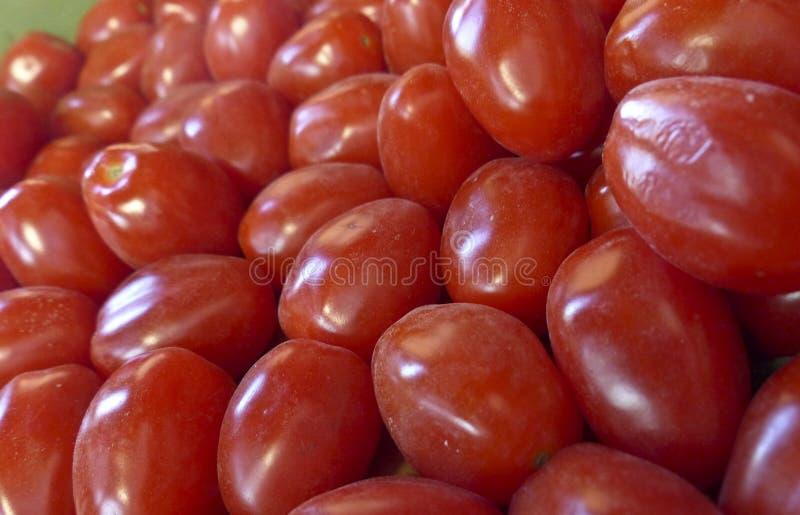 Czereśniowych pomidorów Świeży Ukradziony zdjęcie stock