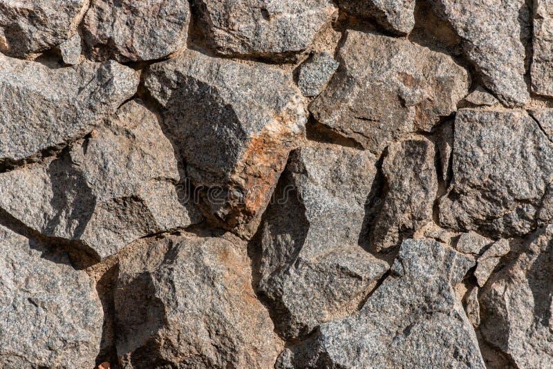 Czerep ściana od odłupanego kamienia fotografia royalty free