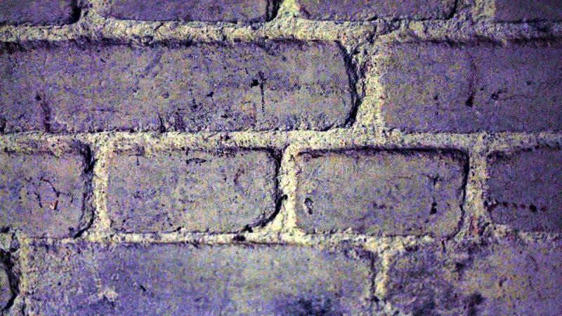Czerep ściana z cegieł w starym lochu zdjęcie stock