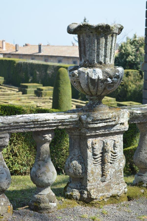 Czerep balustrada obraz royalty free