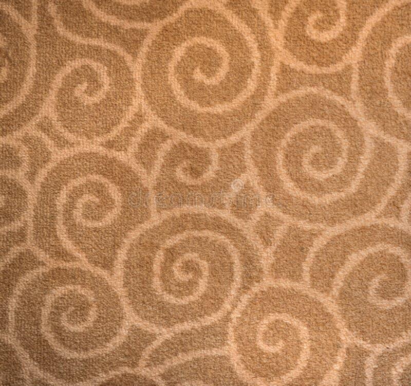 Czerep dekoracyjny dywanowy tkanina wzór zdjęcie stock