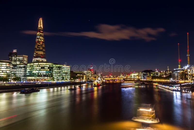 Czerep - drapacz chmur w Southwark w Londyn fotografia stock