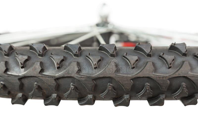 Czerep frontowy koło bicykl, boczny widok fotografia stock