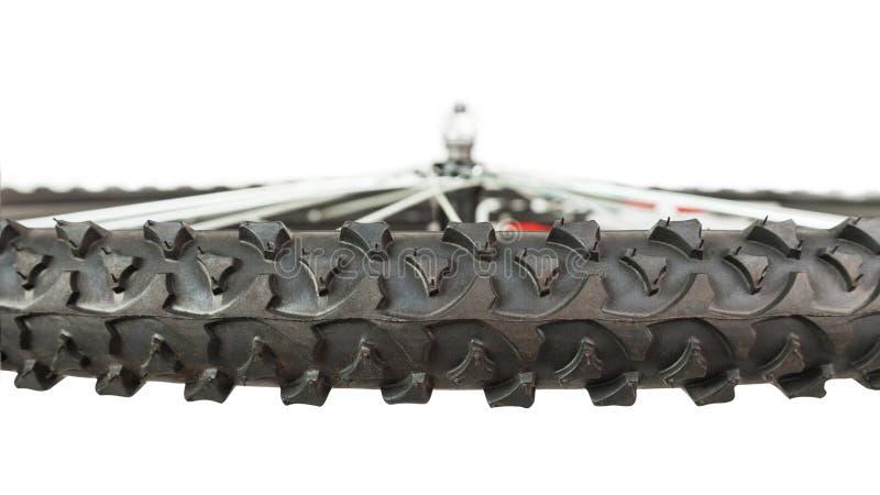 Czerep frontowy koło bicykl, boczny widok obraz royalty free