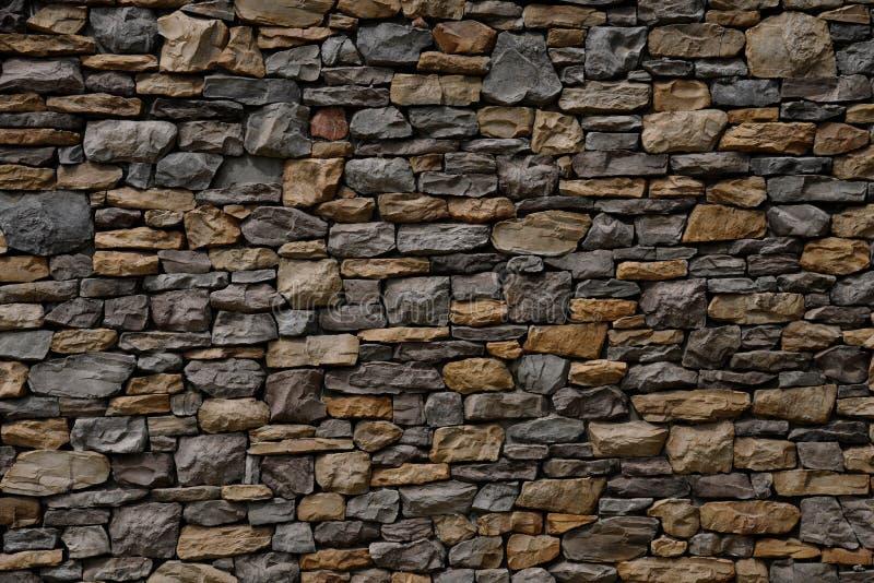 Czerep kamienna ściana zdjęcia stock