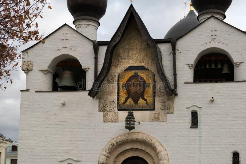 Czerep katedra intercesja Święta dziewica zdjęcie stock