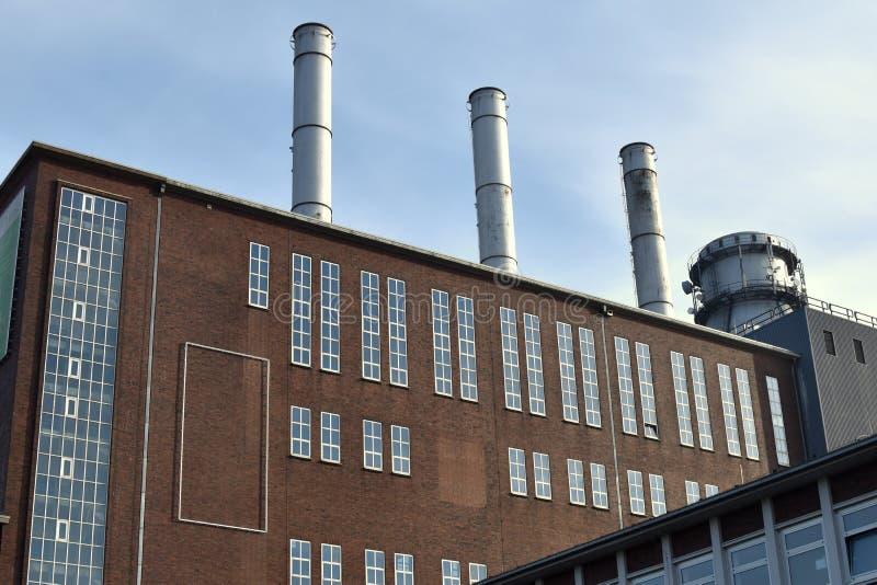 Czerep przemysłowy fabryczny budynek architektura przemysłowej zdjęcie royalty free