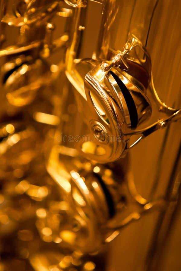Czerep saksofonowe klapy obrazy royalty free