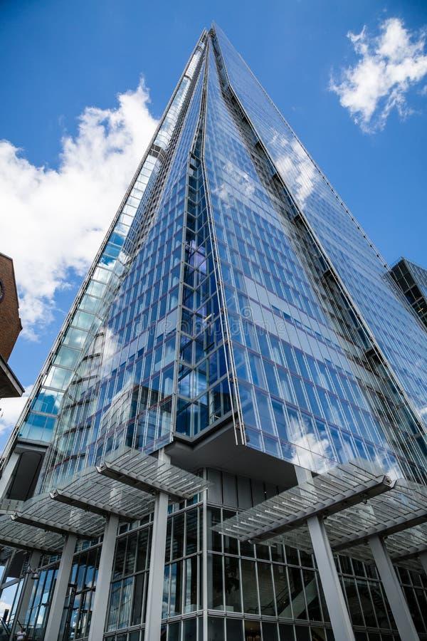 Czerep Skyscrapper w Londyn obrazy stock
