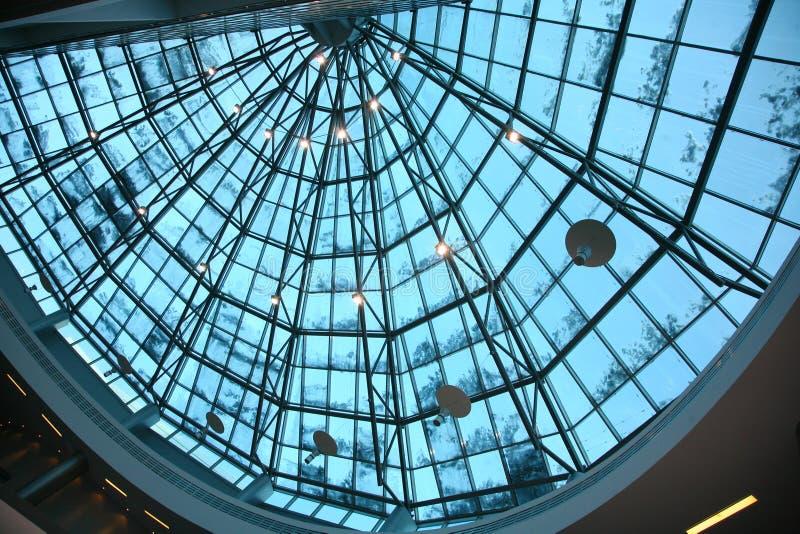Czerep szklany kopuła dach fotografia royalty free