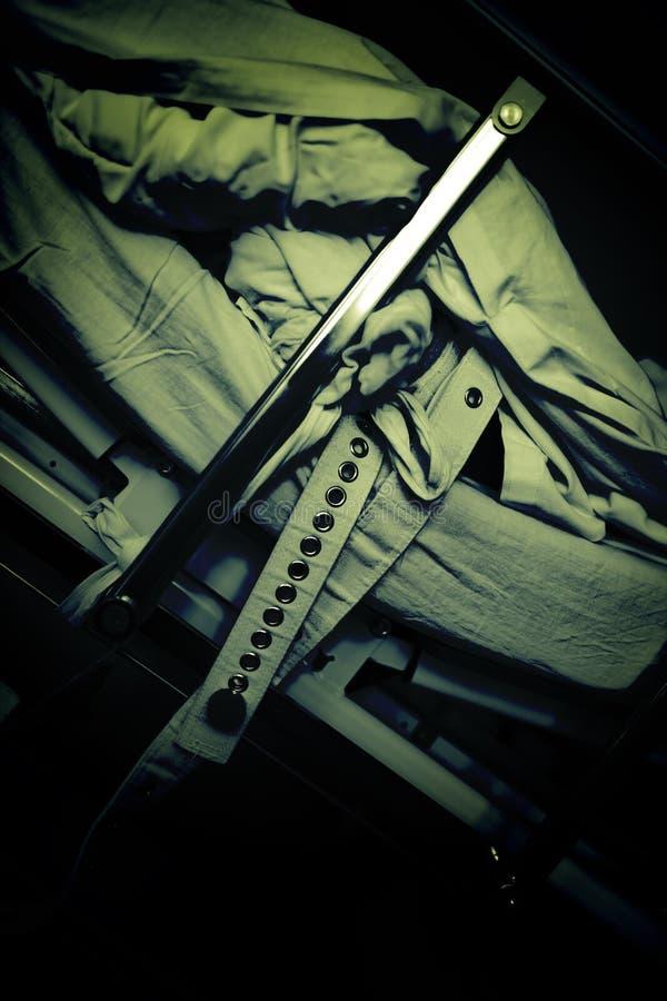 Czerep umysłowy łóżko obrazy stock