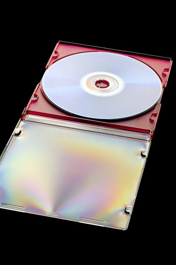 czernić dyska dvd zdjęcia stock